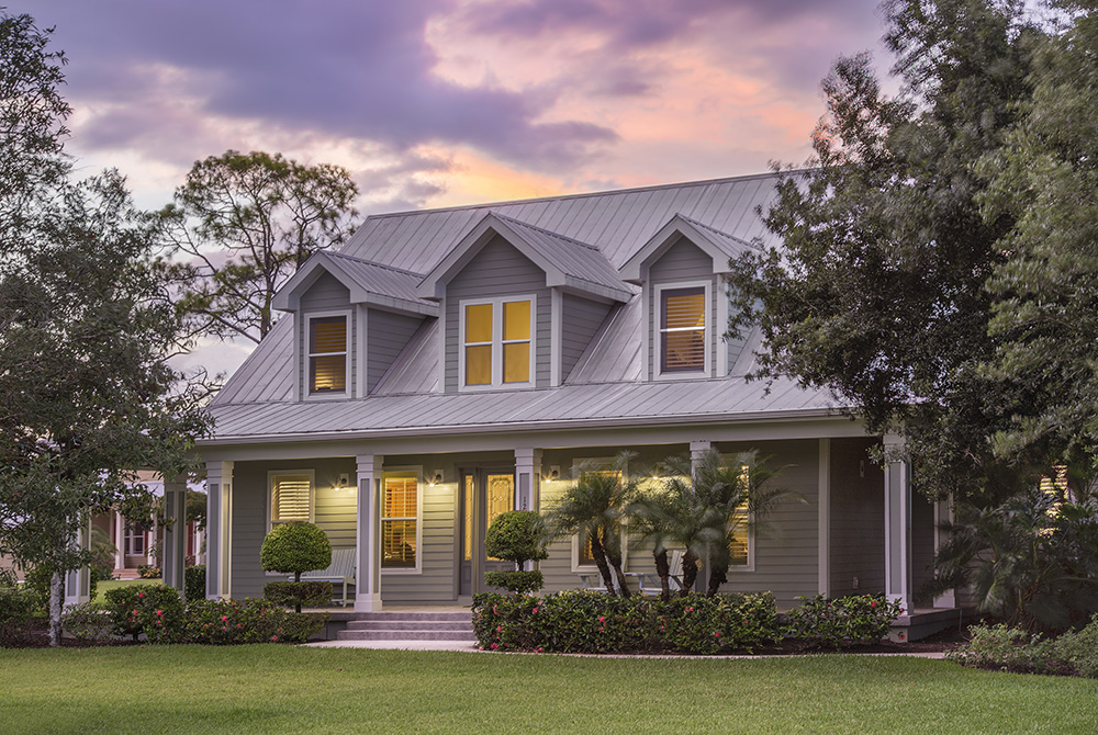 Front Porches Give Homes Old Florida Country Feel