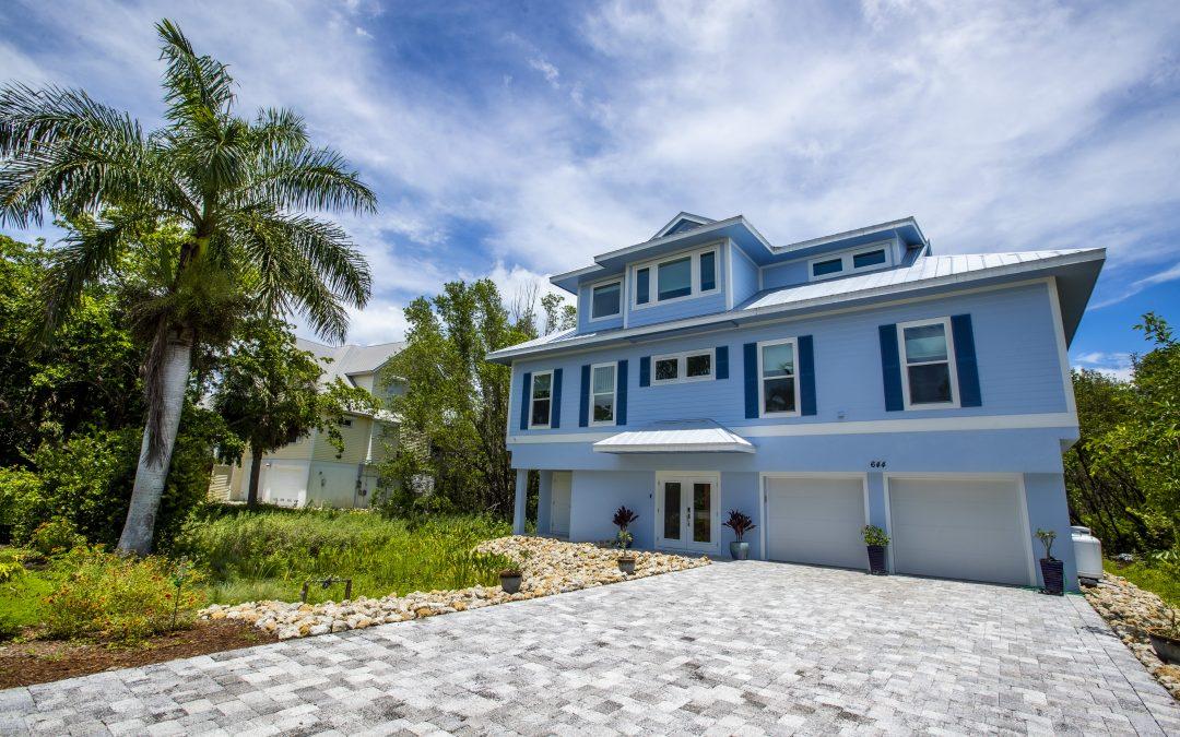 Daniel Wayne homes completes custom home on Sanibel